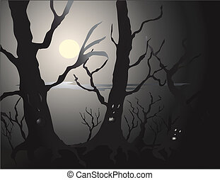 Haunted Forest - The forest comes alive, just in time for...