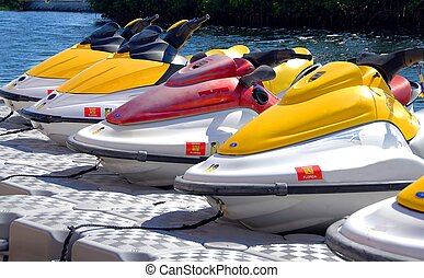 jet ski - photographed jet skis for rent in thr Florida...