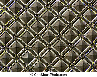 Wall, decor - a building wall is finished a decorative tile...
