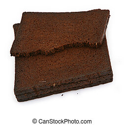 pumpernickel bread - close-up of pumpernickel bread against...