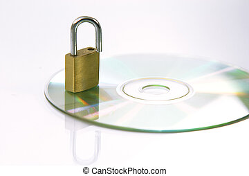 secure data - security concepts lock your data