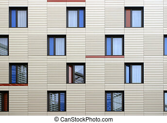 Puzzle windows - Modern windows mosaic in contemporary...