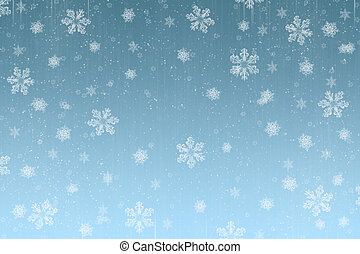christmas snow - snowy christmas background perfect for a...