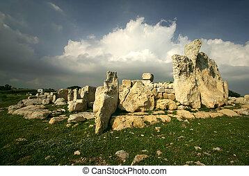 Hagar Qim #2 - Megalithic Temples of Hagar Qim, A UNESCO...
