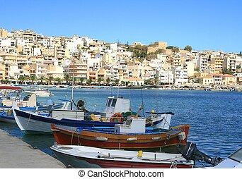 Sitia, Crete - The town Sitia on Crete