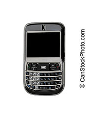 PDA Phone - A PDA phone isolated on a white back ground