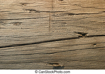 Warm timber texture - Wooden beam material detail lightened...