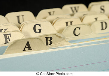 Index Cards - Office Related Object - Background
