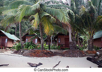 bungalows on the beach tropical destinations koh chang...