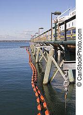 Net Around Pier