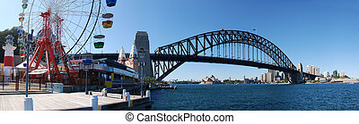 Sydney Harbor Panorama - Sydney Harbor ( Harbour ) Panorama...