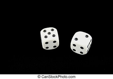 Seven and boxcars dice