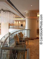 Luxurious waiting area - Luxurious reception waiting area...