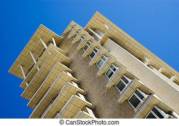 Verandas 2 - Verandas in apartment block