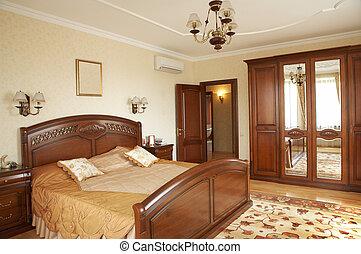 chambre à coucher, climatiseur