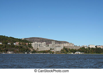 West Point from across the Hudson River