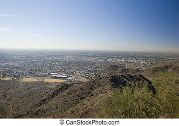 Phoenix West Side, AZ - Phoenix Westward Look from North...