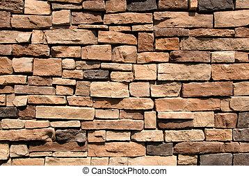 Stone Wall - Stonework Wall Facade