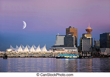 Canada Place, Vancouver - Waterfront at Canada Place,...