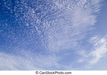 beautiful clouds - the sky with a funny clouds pattern