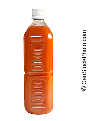Bottle of Organic Juice - 30 fl oz bottle of organic...
