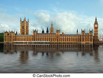 London Parliament - Photograph of the London Parliament