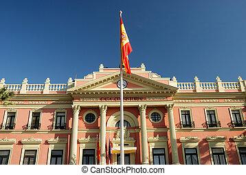 Building in Murcia, Spain
