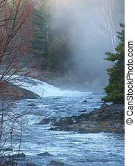 Misty Cataract Falls - Cataract River Falls on Hwy 557...
