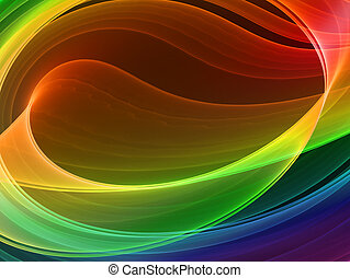 multicolored abstract background - high quality rendered...