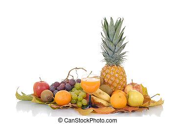 frisk, säsongbetonad, frukt