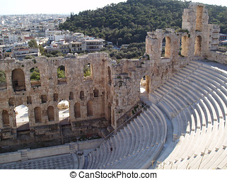 Acropolis Amphitheater - Herodium Amphitheater at the...