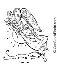 engelen, Silhouettes
