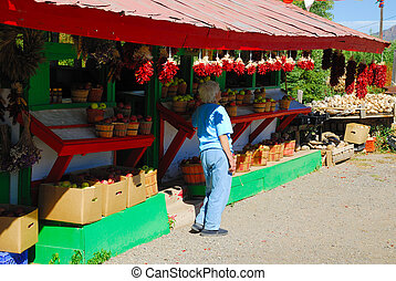 Roadside Fruit Stand - Fruit Stand