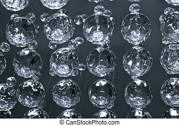 Chandelier - Bunch of diamond style luxury crystal balls