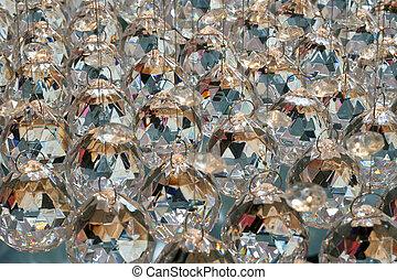 Luxury diamonds - Bunch of diamond style luxury crystal...