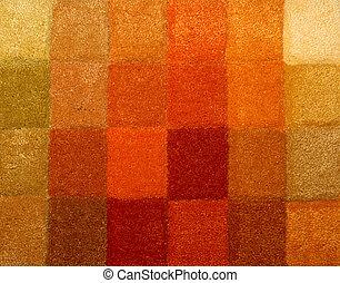 Carpet colors 03 - Color palette picker of carpet textile...