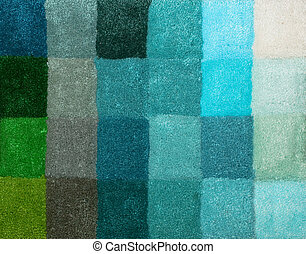 Carpet colors 11 - Color palette picker of carpet textile...