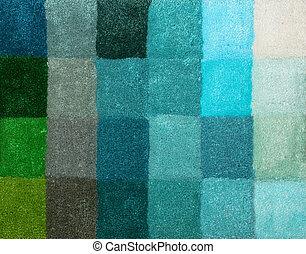 Carpet colors 11 - Color palette picker of carpet textile...
