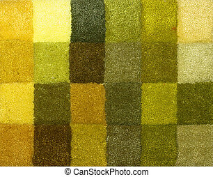 Carpet colors 13 - Color palette picker of carpet textile...