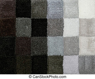 Carpet colors 14 - Color palette picker of carpet textile...