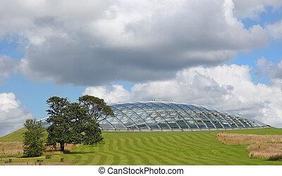 Futuristic Eco Dome