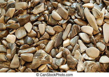 grey pebbles, stone background, natural minerals