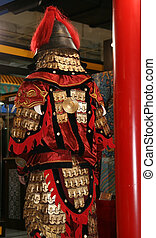 chinese warrior  - Ancient Chinese Warrior Backside