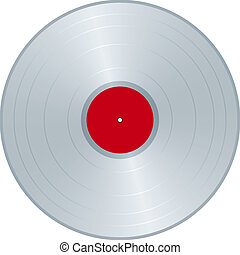 Silver LP - Silver matrix for LP Label