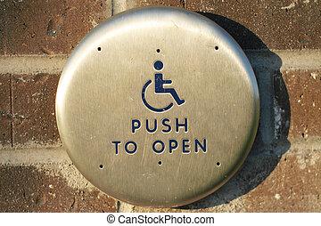 Handicap Access Door