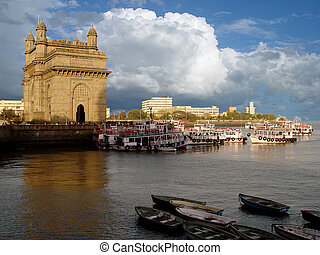Gate of India - Gateway of India, MumbaiBombay, India Was...