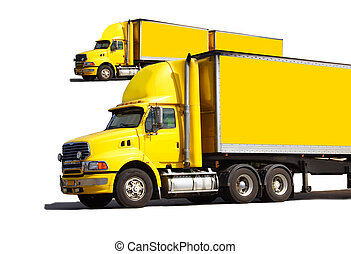 Semi trucks - Articulated semi truck