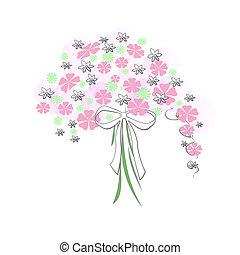花, 花束