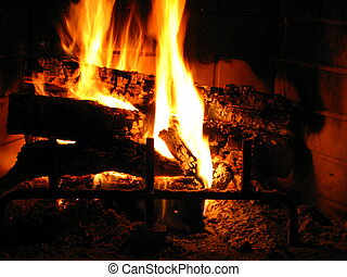 fireplace 4 - a nice cozy fireplace for lovers on a chilly...