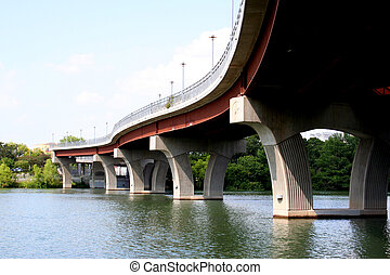 Bridge - A bridge in downtown Austin